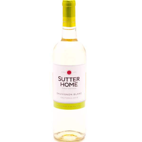 Sutter Home 2013 Sauvignon Blanc 750ml