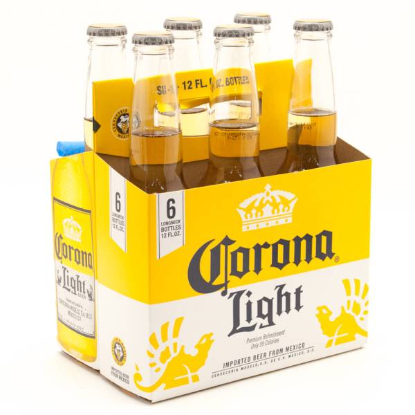 Corona Light 6 Pack Beer Wine And Liquor Delivered To