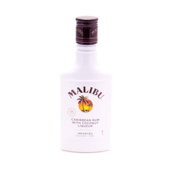 Malibu Caribbean Rum with Coconut Liqueur - 21% ALC - 200ml