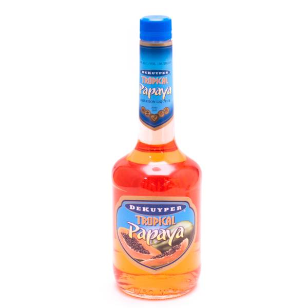 Dekuyper Tropical Papaya Imitation Liqueur - 30 Proof - 750ml