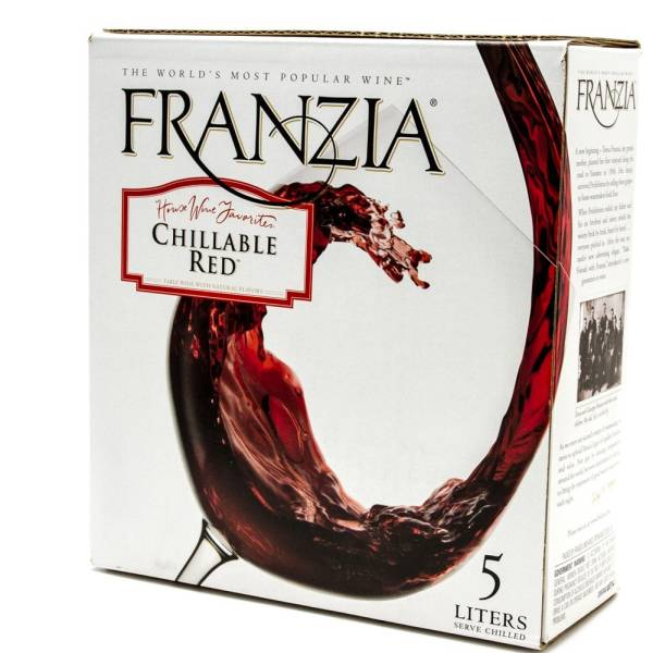 Franzia - Chillable Red - Box Wine - 5L