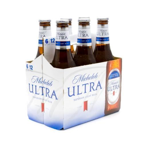 Michelob Ultra - 12oz Bottle - 6 Pack