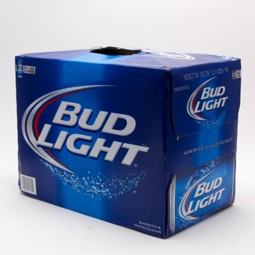 how much does a 30 pack of bud light cost