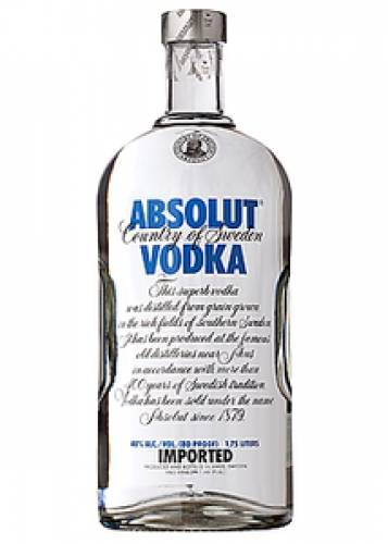 Absolut Vodka - 80 Proof - 1.75ml