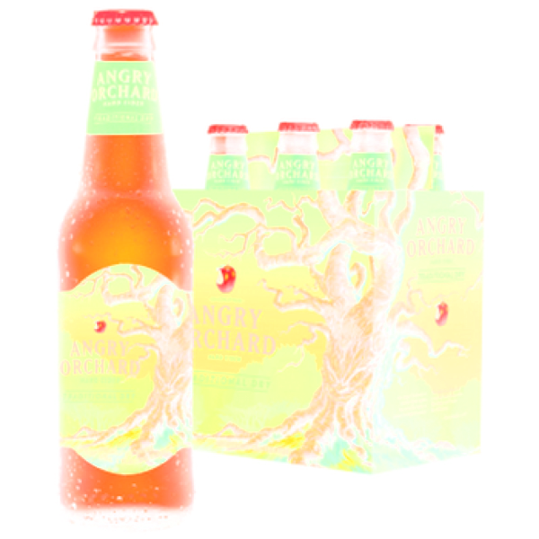 Angry Orchard Green Apple Hard Cider - 12oz - 6 Pack