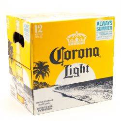 Corona Light 12 pack, 12 ooz Bottles...