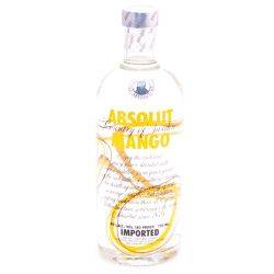 Absolut Mango Flavored Vodka 80 Proof...