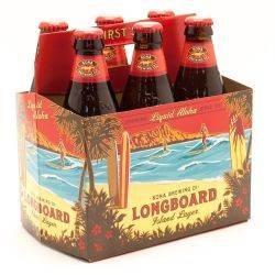 Kona Brewing Co. Longboard Lager 6 Pack