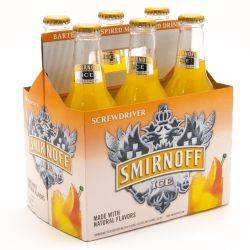Smirnoff Ice Screwdriver - 6 Pack