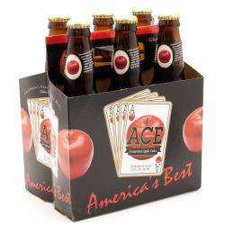Ace Fermented Apple Cider - 12oz - 6Pack