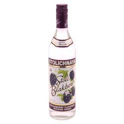 Stoli Blackberry Flavored Vodka 35%...