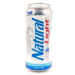 Anheuser-Busch Natural Light 16oz