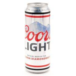 Coors Light Silver Bullet 24oz