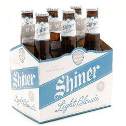 Shiner Light Blonde 6 pack