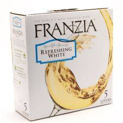 Franzia Refreshing White Box Wine 5L
