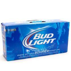 Bud Light 18 pack cans case