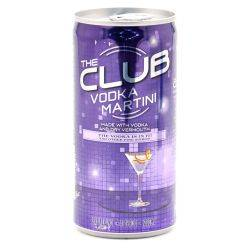 The Club Vodka Martini 200ml