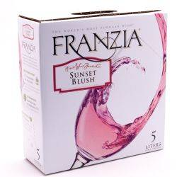 Franzia Sunset Blush Box Wine 5L