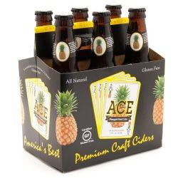 Ace Pineapple Hard Cider Gluten Free...