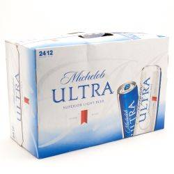 Michelob Ultra 24 Slim 12oz Cans case