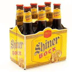 Shiner Bock 6 Pack