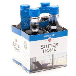 Sutter Home Merlot - 187ml - 4 Pack