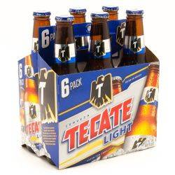Tecate Light 6 Pack