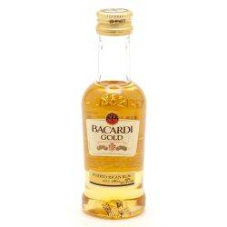 Bacardi Gold Rum Mini 50ml