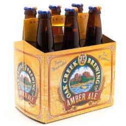 Oak Creek Brewing Co - Amber Ale - 6...