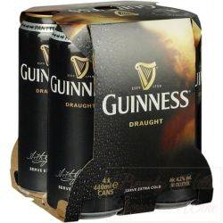 Guinness 4 pack cans - 14 oz