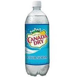 Canada Dry - Club Soda 1 liter