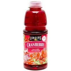 Langer's Cranberry Juice, 1L