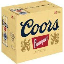 Coors 30 pack cans