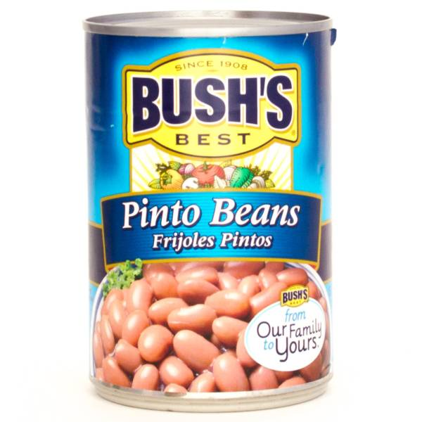 Bush's Best Pinto Beans 16oz | Beer, Wine and Liquor Delivered To Your ...