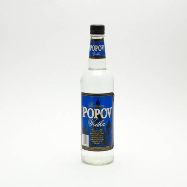 Popov Vodka Popov Vodka Premium 10...