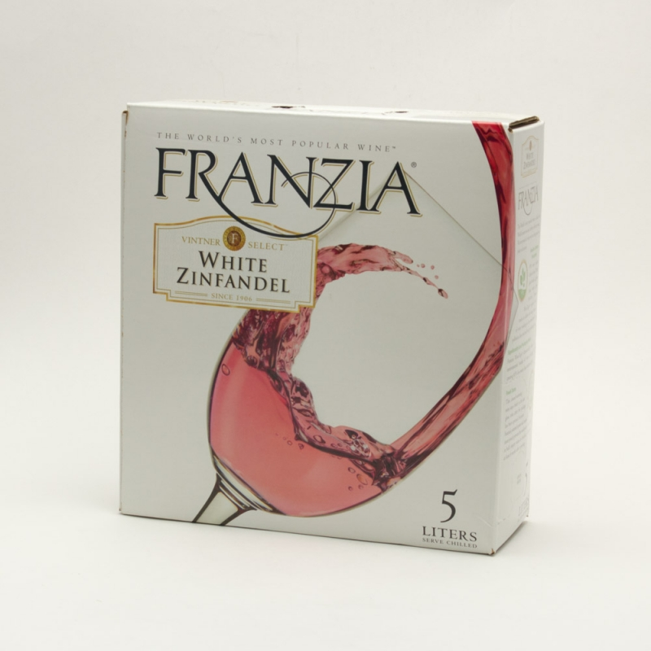 Franzia White Zinfandel Box Wine 5l Beer Wine And