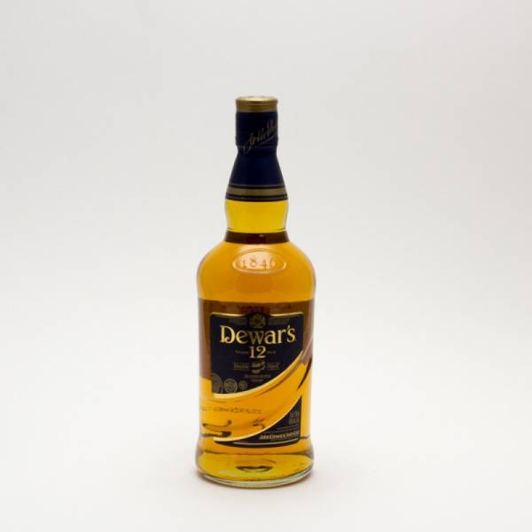 Dewar's 12 Years Old 750ml