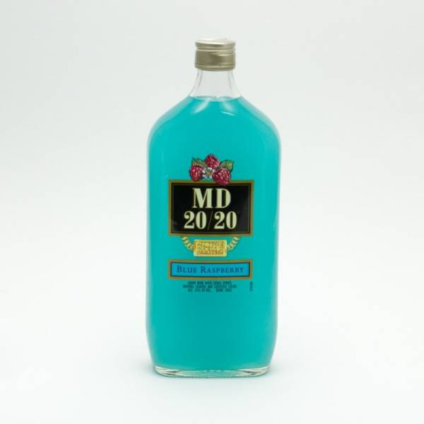 Md 20 20 Blue Raspberry 750ml Beer Wine And Liquor