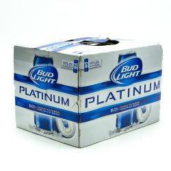 Bud Light Platinum 12oz 12pk Can Amazing Design