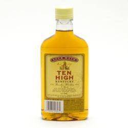 Ten High Sour Mash Bourbon Whiskey 375ML
