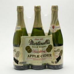 Martinelli's Sparkling Cider...