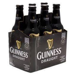 Guinness Draught 12oz 6 pack Bottle