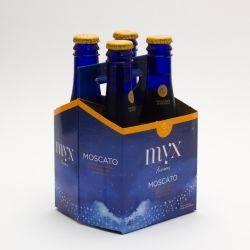 MYX Fusion Moscato Peach 6.3oz 4 pack...