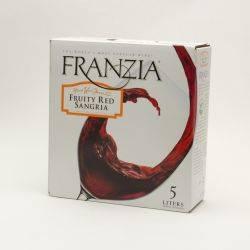 Franzia Fruity Red Sangria Box Wine 5L