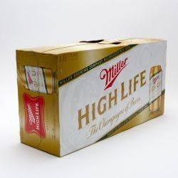 Miller High Life 12oz 18pk Can