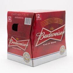 Budweiser 12oz 12 pack bottle