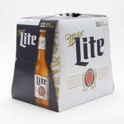 Miller Lite 12oz 12 pack Bottle