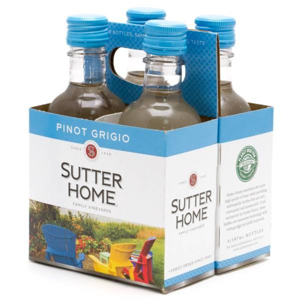 Sutter Home Pinot Grigio 4 Pack 187ml Bottles