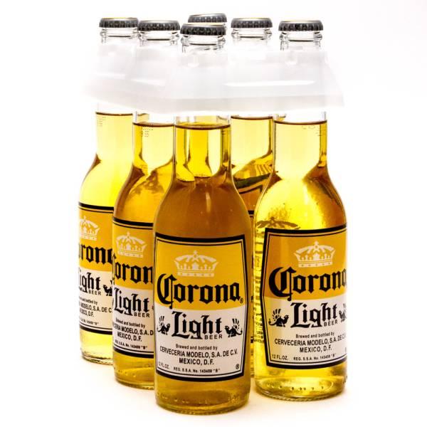 Corona Light 6 Pack 12oz Bottles