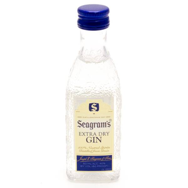 Seagram's Extra Dry Gin 50ml